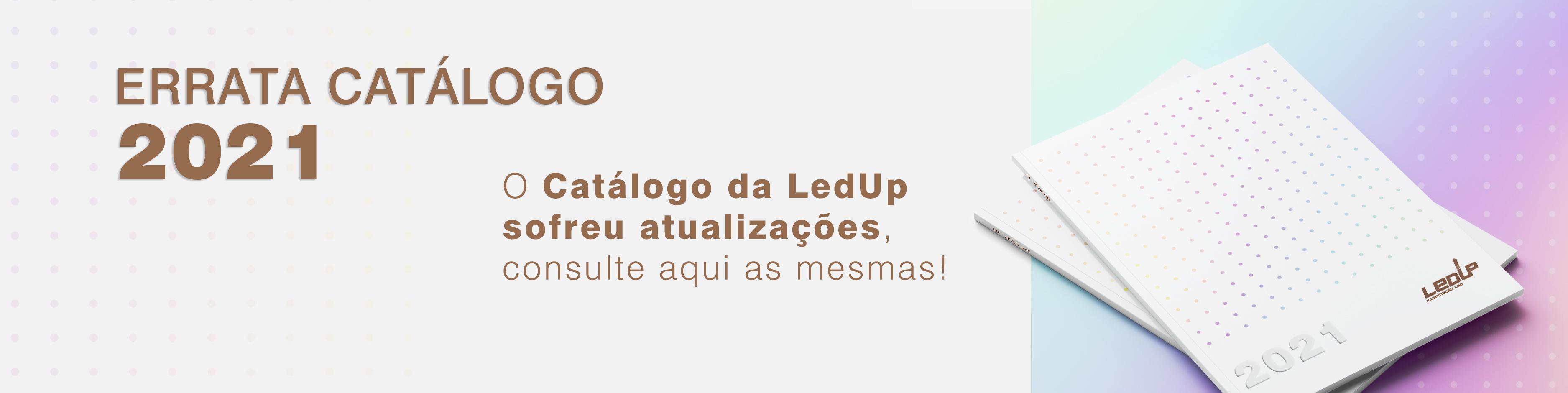 Errata catálogo LEDUP 2021